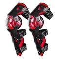 Красный мотоциклетный наколенник для мужчин Защитное Снаряжение Наколенник для мотоцикла MX DH мотоциклетный наколенник Rodiller Экипировка дл...