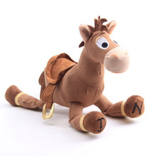 """История игрушек 4 Bullseye плюшевая игрушка лошадь мультфильм чучело куклы Рождество подарок на день рождения для детей 25 см/9"""""""