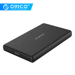 ORICO 2,5 дюймов корпус для жесткого диска USB3.0 на SATA 3,0 Micro B внешний корпус для жесткого диска 5 Гбит/с высокоскоростная коробка для HDD SSD Поддержк...