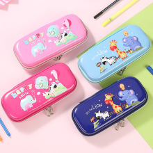Creative multifunctional 3D pencil case children cartoon stereo