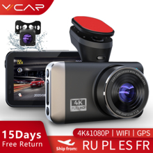 CAR DVR Camera Dash-Cam WIFI Registrar Night-Vision 1080P Vvcar D530 4K Spuer Speed-N