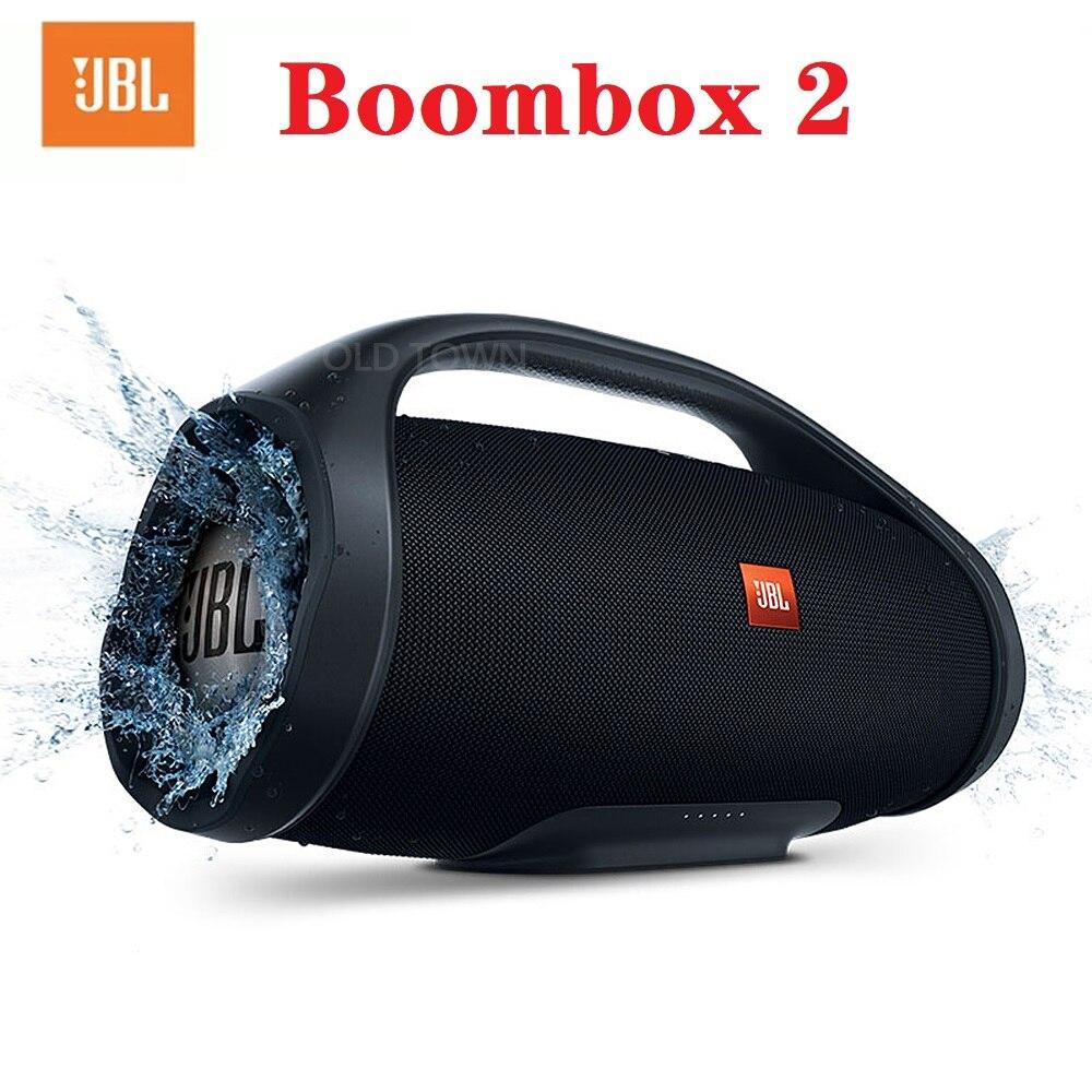 JBL Boombox 2 Bluetooth Speaker JBL Portable Wireless Speaker Outdoor Waterproof Stereo Loudspeaker Super Bass MusicBox