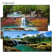 Congsipad Tropical Waterfalls Mouse Pad Large Pad for Laptop Mouse Notb