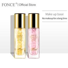 Pearl Essence Natural Ingredients Makeup Primer Gel Long-lasting Brighten Skin Invisible pores Firming 30ml