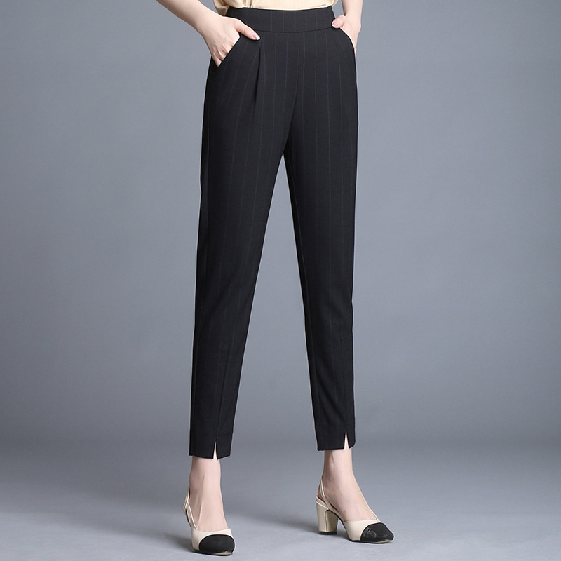 2019 New Summer Women's Long Cotton Pants Fashion Casual High Quality Ladies Pants 805