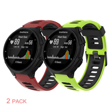 Sport Silicone Watch band for Garmin forerunner 235 220 230 620 630 735XT Silicone Wristband Strap for Garmin forerunner Band