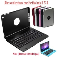 Dünne Drahtlose Bluetooth Tastatur Folio Smart Fall Stehen Abdeckung Shell für Apple IPad Mini 1 2 3 4