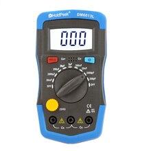 DM6013L Ручной цифровой измеритель емкости конденсатор с ЖК-подсветкой