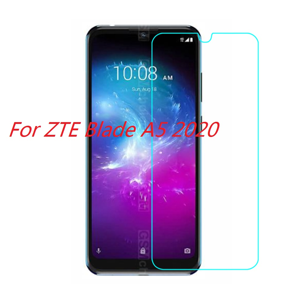 Tempered Glass For ZTE Blade A5 2020 Glass Screen Protector 2.5D 9H Premium Tempered Glass For ZTE BLADE A5 2020 Protective