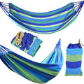 280*80 мм 2 человека полосатый гамак уличная кровать для отдыха утолщенная холщовая подвесная кровать для сна качели гамак для кемпинга охоты