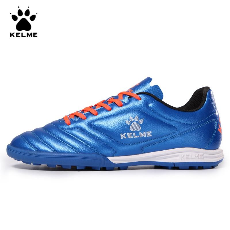 KELME Soccer Shoes Football Boots Kids Original Soccer Sneakers Child Football Shoes Cleats Football Sneakers Futsal Boy 873701