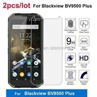 2Pcs Glas Für Blackview BV9500 Plus Gehärtetem Glas 9H Schutz Smartphone Film Für Blackview BV9500Plus 5.7