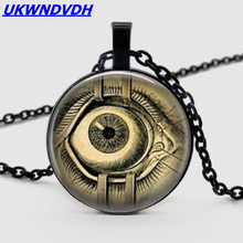 Popular fashion products evil eye necklace retro glass cabochon pendant necklace men and women clothing accessories popular fashion products evil eye necklace retro glass cabochon pendant necklace men and women clothing accessories