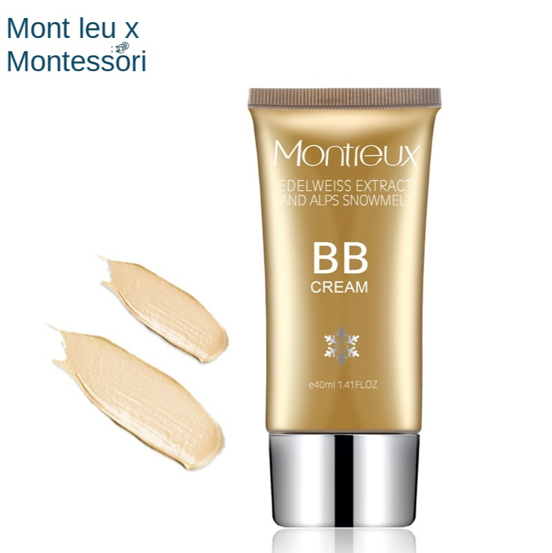BB Cream Foundation, Concealer, Mansu Cream, Makeup, Waterproof and Brighten Facial Foundation, Effective protectionandsunscreen