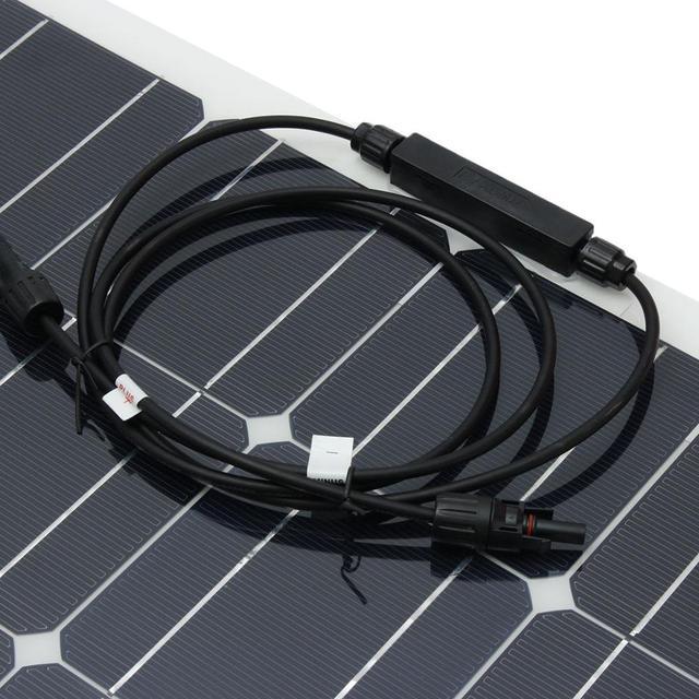 High Efficient Popular Flexible Solar Panel 18V 100W for Boat RV Car