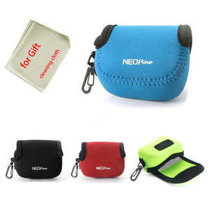 Image 5 - portable Neoprene Camera Bag case for Sony Cyber shot RX0 DSC RX0 rx0 RX0M2 RX0II Sport Action Camera pouch cover