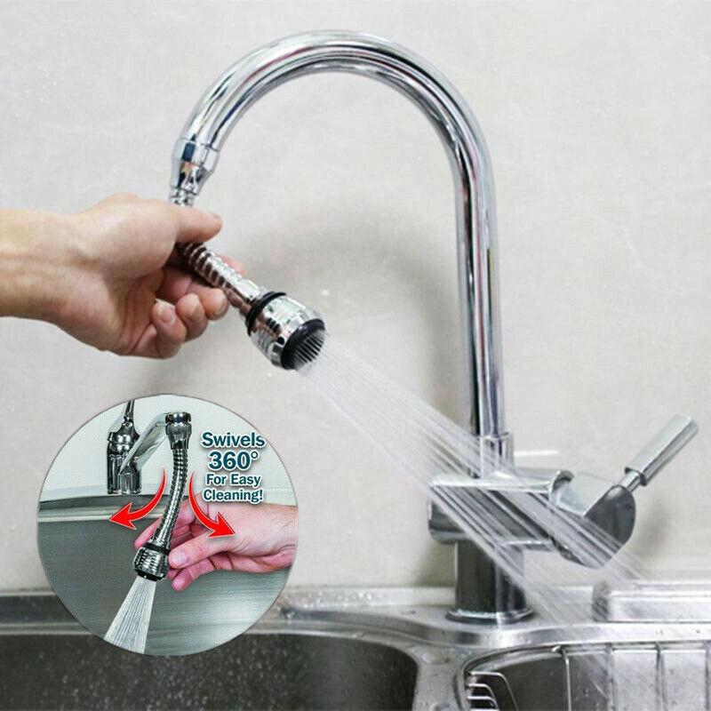 360 Swivel Tap Aerator Sink Mixer Extender Kitchen Faucet Nozzle Dual Bubbler Spray Kitchen Flexible Tap16cm New Faucet Extenders Aliexpress