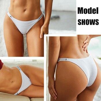 3PCS Set Cotton Panties Briefs Women Underpants Female Sexy Panties Thong Women s Pantys Underwear