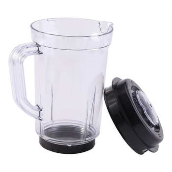 1L Juicer Blender Pitcher Container Jar Jug Water Milk Cup Lid Replacement Parts Fit For Magic Bullet high quality blade jar container and tamper for jtc blender 010 767 800 g5200 g2001 for vitamix blender parts free shipping