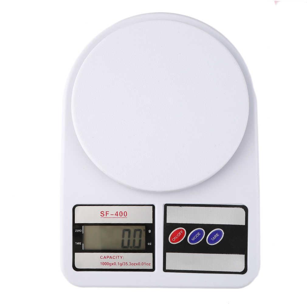 2016 عالية الجودة SF400 المحمولة حجم المنزل المطبخ ميزان رقمي الوزن الوزن غرام 1 كجم/0.1g