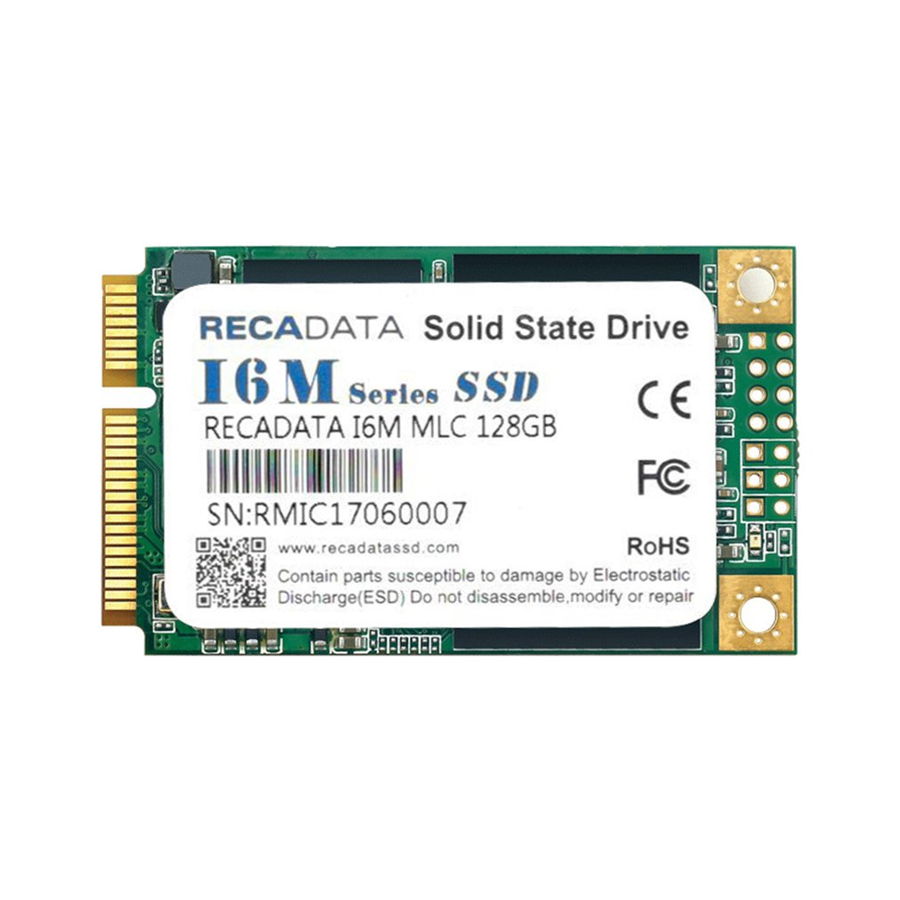 RECADATA SSD Solid State Drive MSATA III MLC Flash For Mac OS For Windows 10 For Windows 7 For Windows 8 For Windows Vista image