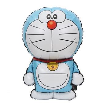 5pcs Doraemon helium balloons large size irregular foil material Doraemon balloon for child toys party balloons 5pcs cute cartoon teenage mutant ninja turtles balloons 18 inch turtles balloon set globo brithday party decorations child toys