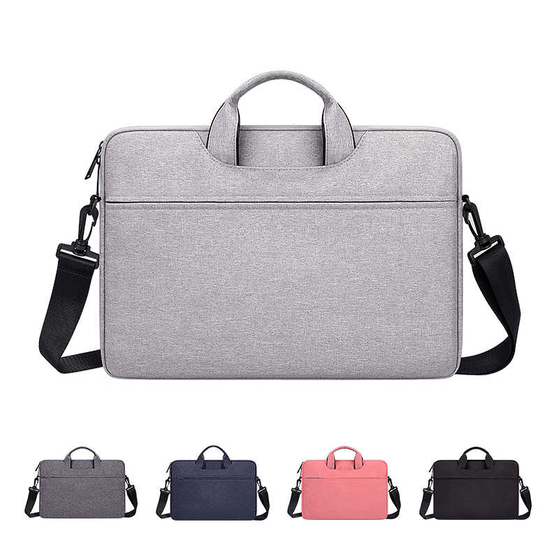 Sac à main pour ordinateur portable housse étui de protection sac à bandoulière ordinateur portable étui de transport pour 13 14 15.6 pouces Macbook Air ASUS Acer Lenovo Dell