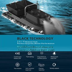 D11 Smart RC Bait Boat Toys Dual Motor Fish Finder Ship Boat Remote Control 500m Fishing Boats Speedboat Fishing Tool