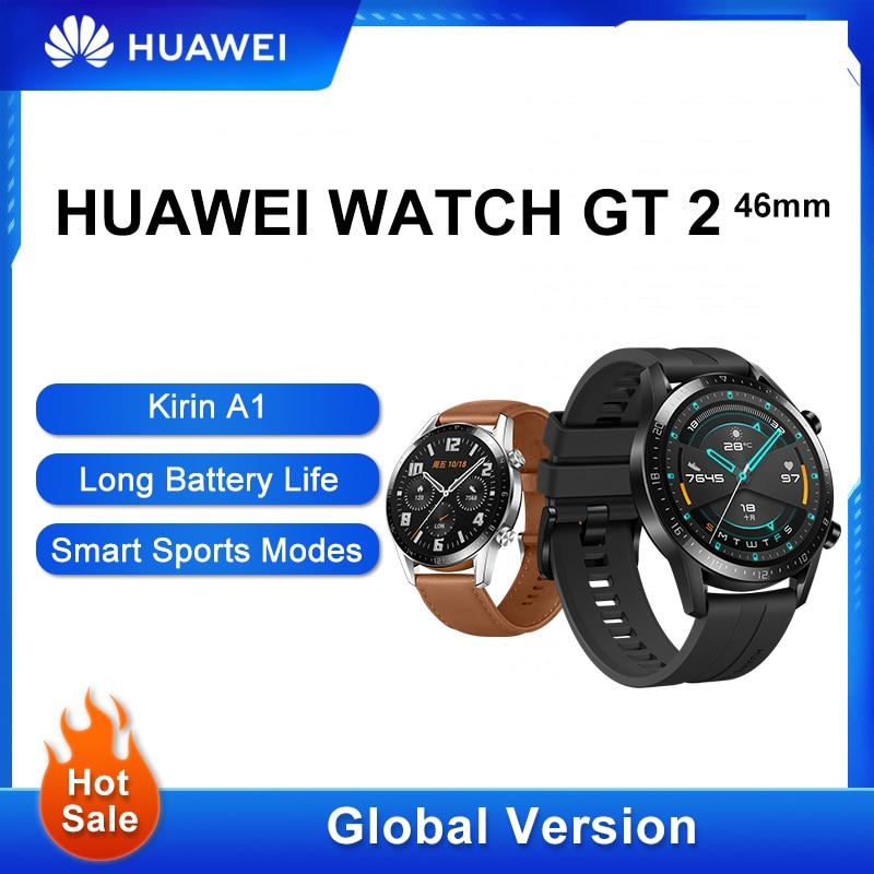 Permalink to Global Version HUAWEI WATCH GT 2 GT2 Smart WATCH Blood Oxygen SmartWatch 14 Days Phone Call Heart Rate Tracker GT 2