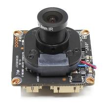 Placa de Módulo de cámara IP POE 5MP H.265 con lente 4MP 1080P ONVIF P2P detección de movimiento RTSP alerta de correo electrónico XMEye App