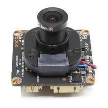 Scheda modulo telecamera IP H.265 POE 5MP con obiettivo 4MP 1080P ONVIF P2P rilevazione movimento RTSP avviso e mail App XMEye