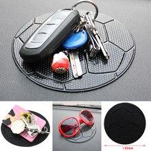 Car Anti Slip Mat Black Silica Gel Magic Sticky Pad Car Dashboard Anti Slip Pad For Cell Phones Sunglasses MP3 Players