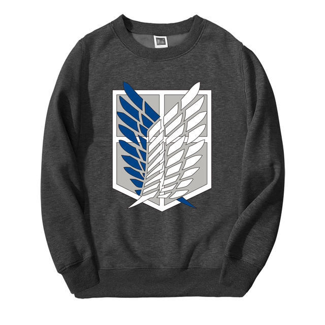 ATTACK ON TITAN THEMED SWEATSHIRT (8 VARIAN)