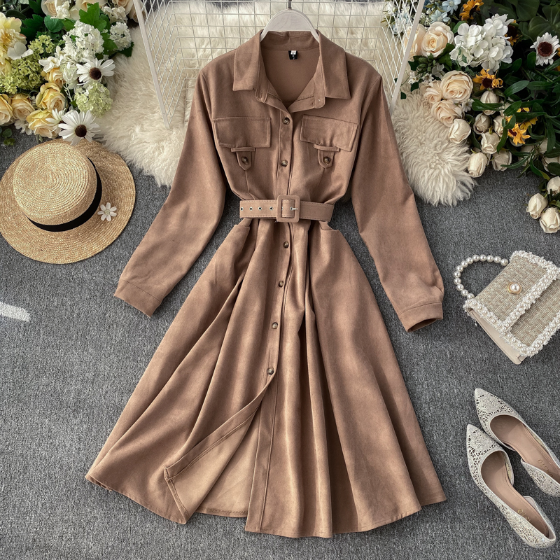 2019 new fashion women's clothing Dress autumn and winter dresses women dress 21