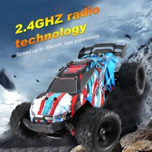 1/18 RC Car 2.4G Monster Truck Car 36 KM/h Remote Control Toys Controller Model Off-Road Vehicle Truck Radio Control Car Toy r c car 2 4g 4ch 4wd 4x4 driving car monster truck off road vehicle remote control car model toys gift for children e