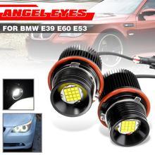 2X 80 Вт белый угол глаза Светодиодный Маркер HALO Кольцо светильник лампа для E39 E53 X5 E60 E61 E63 E64 E65 E66 E83 X3 E87 супер яркий