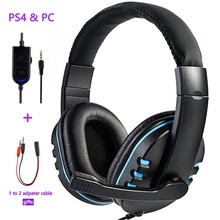 Wired gaming Headphones Gamer Headset with Microphone for Computer,Laptop,PS4 Play Station 4, Nintendo Switch,Tablet