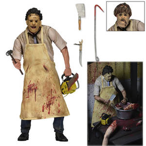 Doll Model-Toys Action-Figure Terror Movie Classic NECA Ultimate Chainsaw for Kids Texas