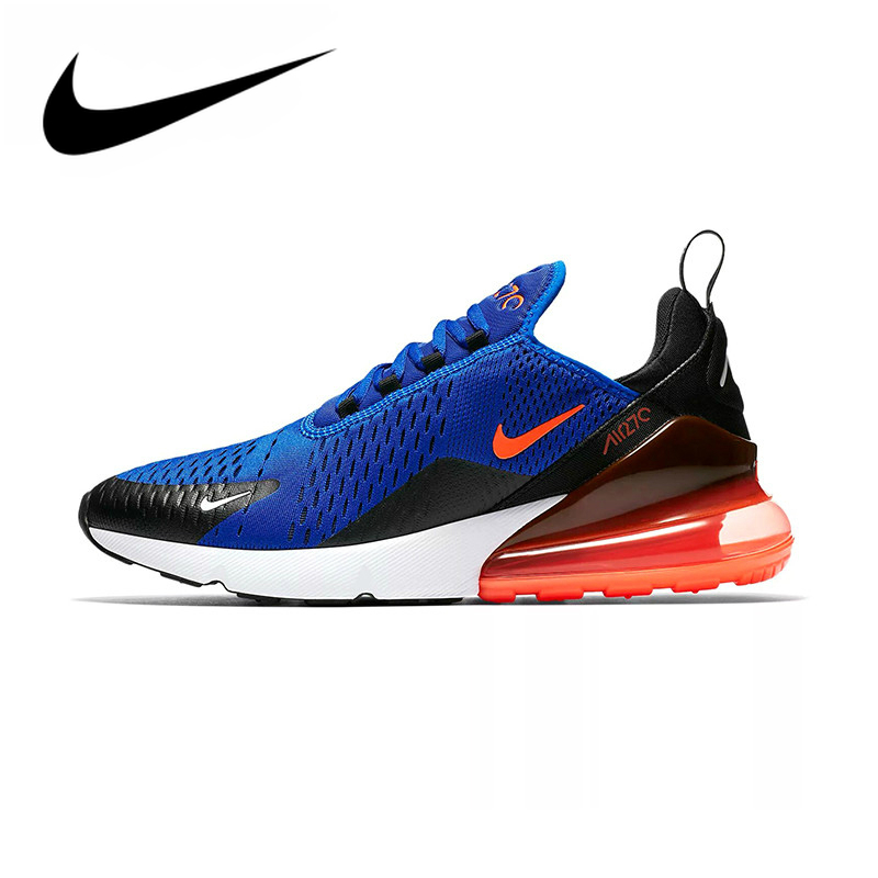 Original Nike Air Max 270 180 Men' Running Shoe Sneakers Sport Outdoor Authentic Outdoor Breathable Designer 2019 New AH8050-401