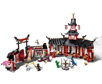 New 70670 1198PCS Ninja Monastery Of Spinjtzu Compatible Legoinglys Ninjagoes Building Blocks Toys Gift for girls boys children 2