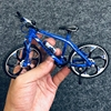 1:10 Mini Diecast Alloy Bicycle Model Metal Racing Finger Mountain bike Pocket portable simulation Collection Toys for ch