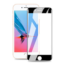 9D full screen tempered glass for iPhone 7  protective film Plus mobile phone accessories