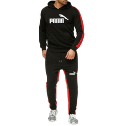 Men's stripe sports suit, Leisure sports suit, Men's Hoodie, Sports shirt, Sports pants set