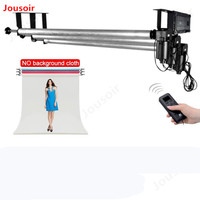 Photo studio Equipment Roller Wall / Ceiling Mount Motorized Electric Background Photography Support Stand System CD50 T03P