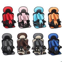 Дорожная детская подушка безопасности с младенческим безопасным поясом тканевый коврик портативная Маленькая детская коляска детское