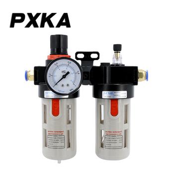 Darmowa wysyłka zawór do regulacji ciśnienia oleju separator wody filtr pneumatyczny pompa powietrza zawór redukcyjny sprzęgła złącza BFC4000 tanie i dobre opinie PXKA BFC2000