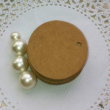 3,5*3,5 см круглая заготовка для выпечки черный белый DIY свадебный подарок декоративная защитная одежда из крафт-бумаги бирки цена упаковка этикетка 1000 шт./лот