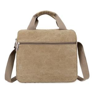 Image 3 - Men Shoulder Messenger Bags For Men Canvas Travel Bag Fashion Handbag high Quality Business Vintage Bag For Women