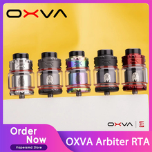 OXVA Arbiter RTA 4ml/6ml Capacity 810 & 510 Drip Tip Fit Dual Coil/Single Coil With Bottom Airflow Leakproof VS Zeus X
