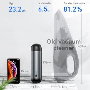 Customic™ Car Vacuum Cleaner - Cordless Handheld Vacuum